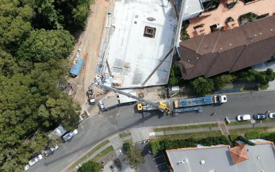 Kyronn: Pinnacle On The Park – Tower Crane Installation